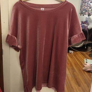 Old Navy Velvet Tshirt